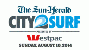 City2Surf 2014 logo