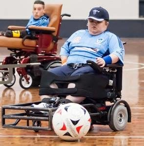CRANE Jordan wheelchair soccer