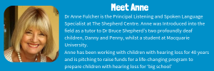 Dr Anne Fulcher will be presenting at the TFN event