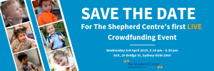 Help projects at The Shepherd Centre by voting with your donation