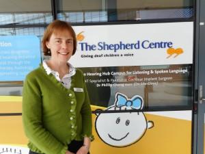 Speech Pathologist Sally Hewett at The Shepherd Centre Macquarie