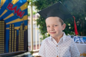 Boy graduates from The Shepherd Centre Wollongong