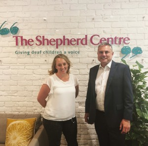 Aleisha Davis Jim Hungerford from The Shepherd Centre are nominated for Impact 25 Awards