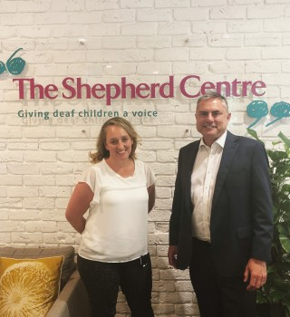 The Shepherd Centre's GM of Clinical Programs Aleisha Davis and CEO Dr Jim Hungerford nominated for Impact 25 Award