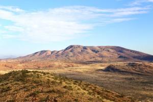 View on the Larapinta Trail
