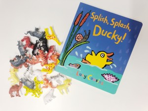Splish Splash Ducky! by Lucy Cousins is a great book for story time with your child