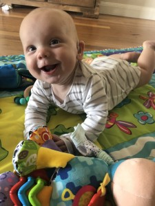 Heath Hurrell was born with hearing loss