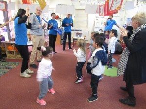 Corporate Volunteers from Dolby visit The Shepherd centre