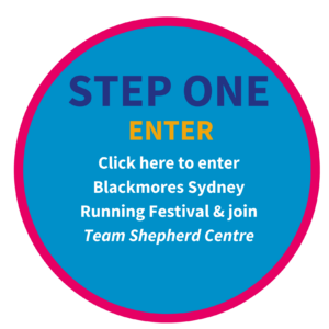 Team Shepherd Centre Blackmores Running Sydney