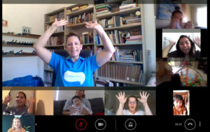 Online Telehealth System - Group Learning Session