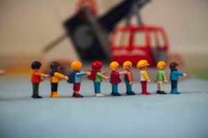 Lego for creative play with kids
