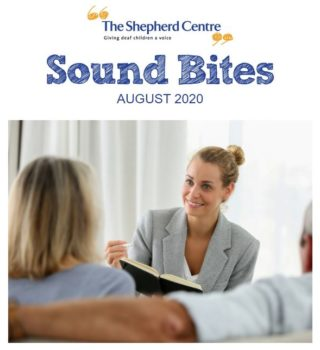 Sound Bites Donor E-Newsletter – August 2020