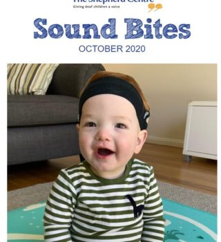 Sound bites – read our October 2020 donor e-newsletter